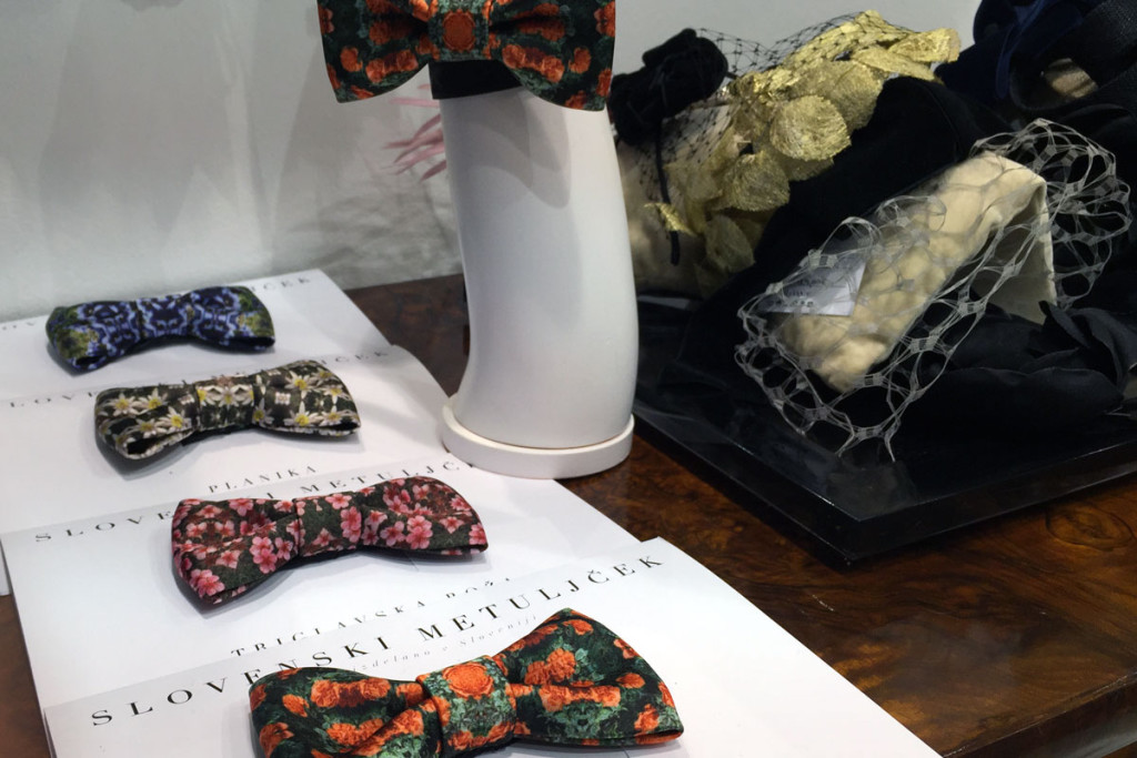 The Slovenian bow tie at PENTLJA CONCEPT STORE