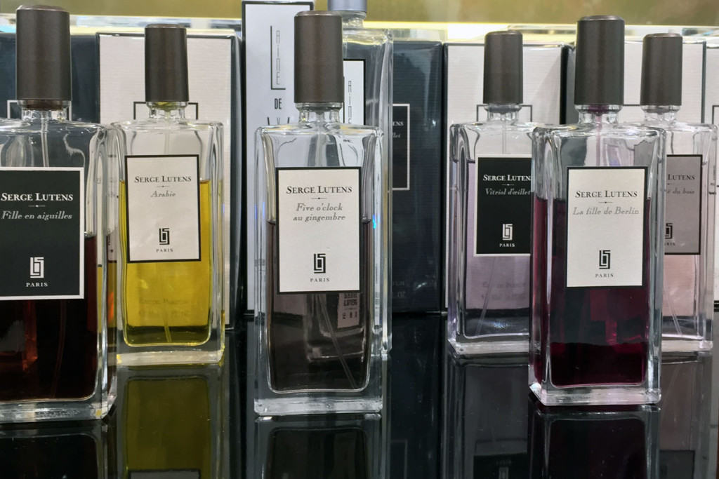 Serge Lutens perfumes at PENTLJA CONCEPT STORE
