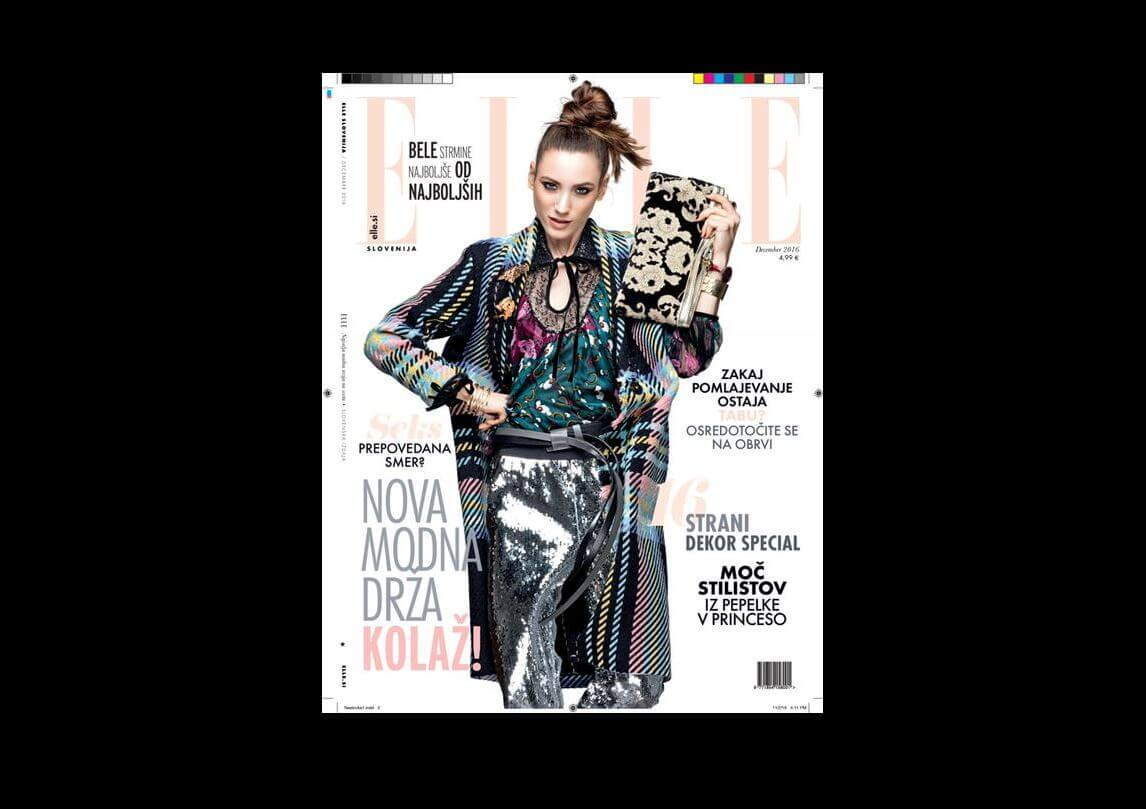 Pentlja concept store official home page for Elle magazine this month